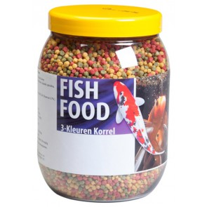VT Fish Food 3-Kleuren Korrel 6mm 1500 ml