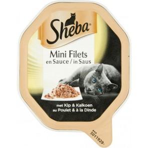 Sheba selection alu saus kip&kalkoen