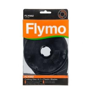 Flymo Snijschijf en plasticmessen. FLY052