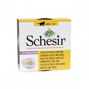 Schesir cat can nat brine rice chicken&rice