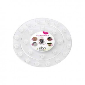 Elho Floorprotector Rond 12,5 cm - Transparant