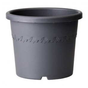 Elho Algarve Cilindro 21 cm - Antraciet