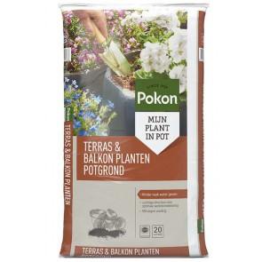 Pokon Terras & Balkon Planten Potgrond 20 L