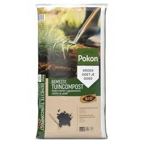 Pokon Bio Bemeste Tuincompost 20 L