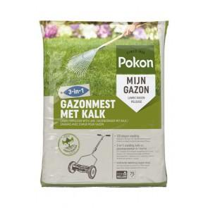 Pokon Gazonmest met Kalk 3-in-3 75m2