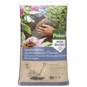Pokon Bio Aanplantgrond voor Zuurminnende Planten 30L