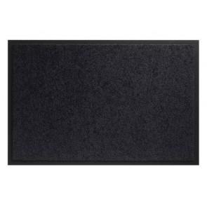 Twister Zwart 60x90cm wasbare mat voor binnen