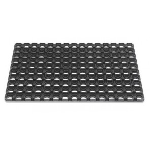 Domino 50x80cm rubberen buitenmat