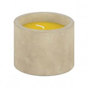 Citronella kaars beton