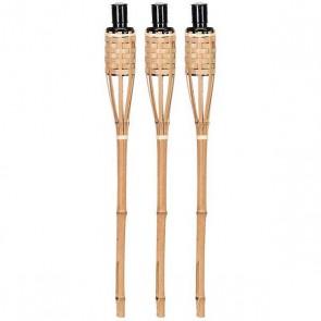 Fakkel bamboe set van 3