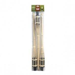Fakkel bamboe 60 cm set van 3