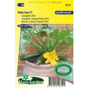 Sluis Garden Courgette Patio Star