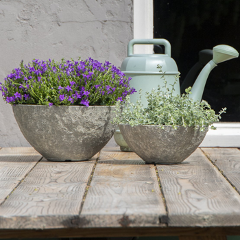 Clayfibre potten